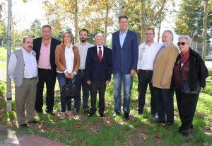 Responsables del PP a les comarques centrals amb Xavier Garcia Albiol