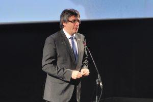 Carles Puigdemont ha inaugurat el cinema de l'Ateneu