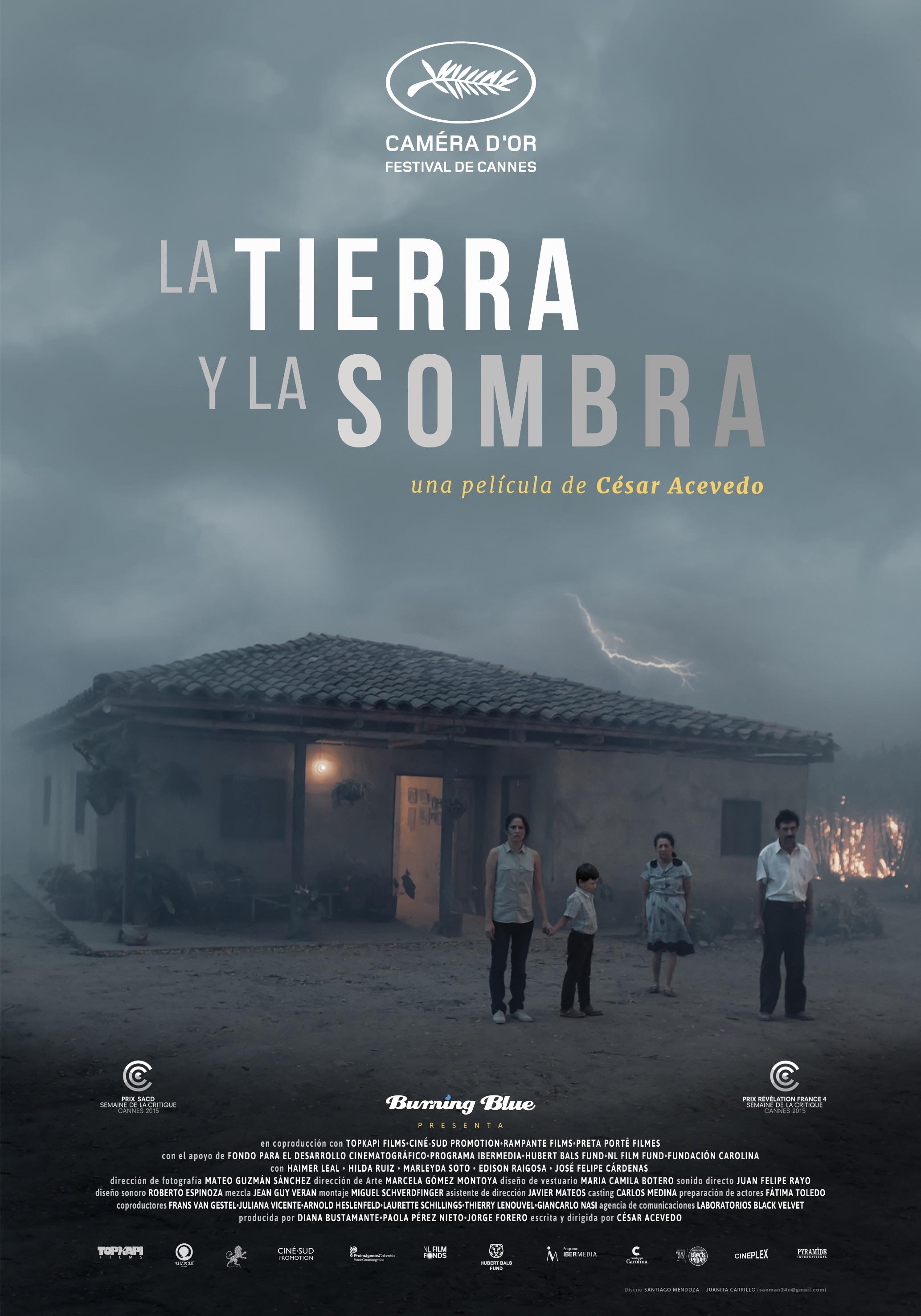 LA TIERRA Y LA SOMBRA - cartell