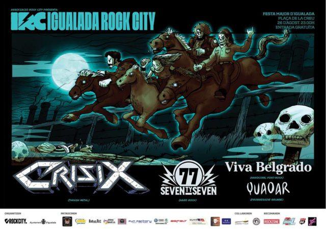 El cinquè Igualada Rock City arriba amb la Festa Major ...